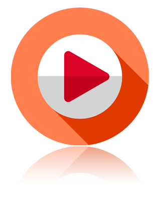 Live streaming play button